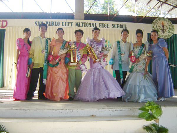 San Pablo City National High School's Filipino Department conducted